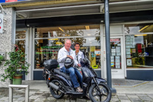 kymco people s zwart